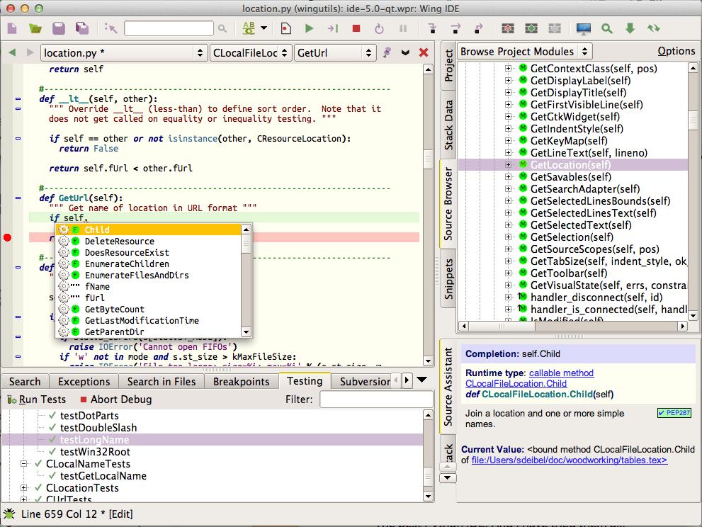 WingIDE Professional 6.1.5 Mac 注册版 - 优秀的Python开发工具