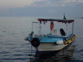An Isabeleño fisherman's boat.