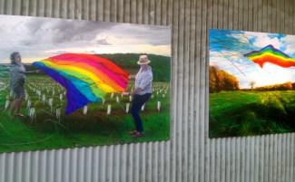 Murials of Rainbows