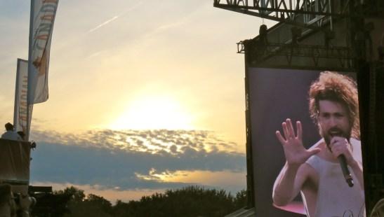 Edward Sharpe at sunset