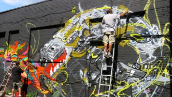 International Graffiti Festival, Under Pressure