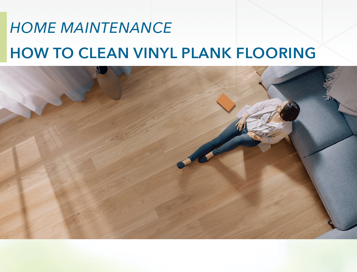 how to clean vinyl plank flooring