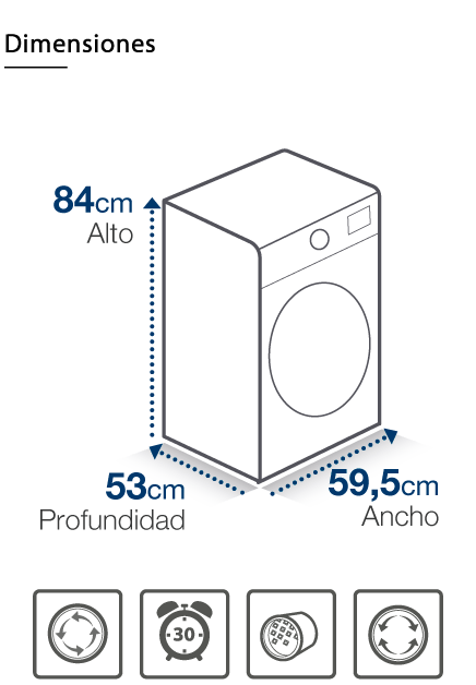 Secadora DWD-C7600W
