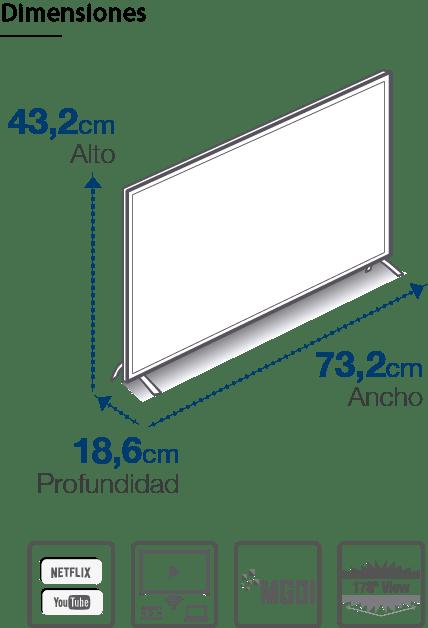 Smart TV 32 Pulgadas L32V780BTS