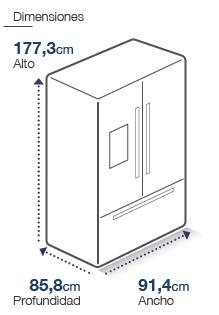 Refrigerador French Door RFF-640FD