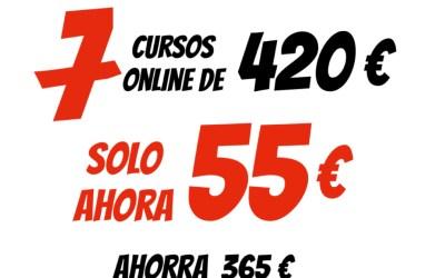 COBRO PAYPAL 0 TARJETA 7 AULAS VIRTUAL XAVIER GARCIA 55€