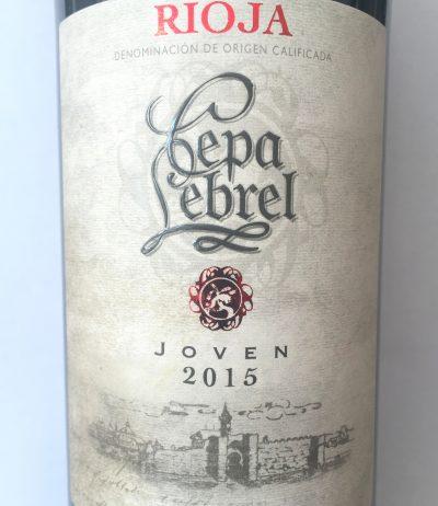Pagos del Rey Rioja Cepa Lebrel Joven 2015