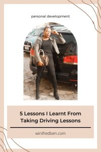 5 Lessons I've Learnt From Taking Driving Lessons