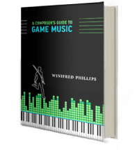 The cover image of the book, A Composer's Guide to Game Music, written by award-winning video game composer Winifred Phillips.