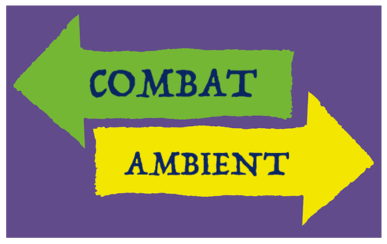 An image illustrating the diametrically opposed needs of combat and ambient music assets, as discussed by video game composer Winifred Phillips in her article about the GDC Showcase 2021.
