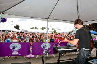 Live music is a big part of the annual Finger Lakes Wine Fest at Watkins Glen International Raceway. The 2017 fest is July 14 to 16.