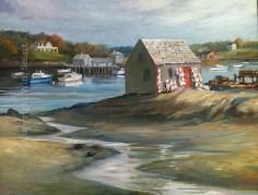 Bailey's Island Lobsters by Wini Smart