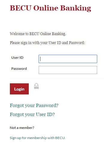 Online Banking | Support | BECU