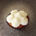Brown Sugar Cupcake with Brown Sugar Pecan Filling with Brie and Cream Cheese Frosting