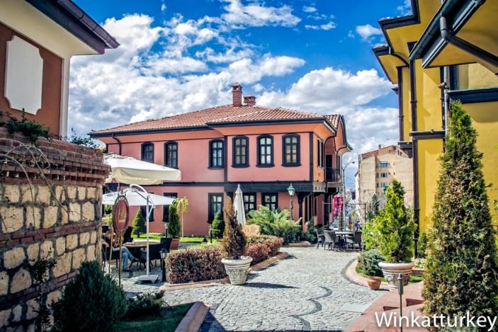 Casas otomanas en Eskisehir
