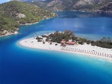 Oludeniz. Foto Let´s travel to Turkey.http://letstravel.to/turkey/place/oludeniz/