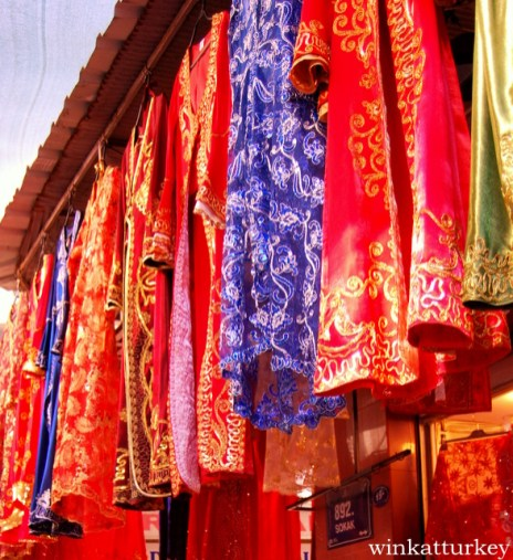 Vestidos tradicionales turcos