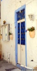 Detalle de una de las casas del pueblo