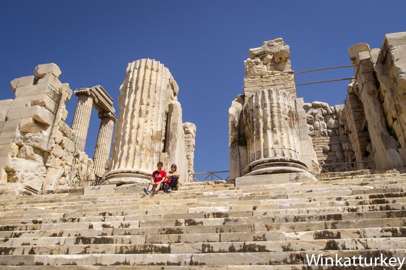 Templo de Apolo Didim  Un guio a Turqua