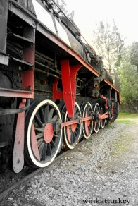 Detalles de una locomotora