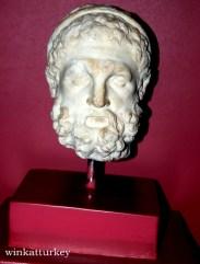 Cabeza de Heracles encontrada en Bergama (150-130 a.c)
