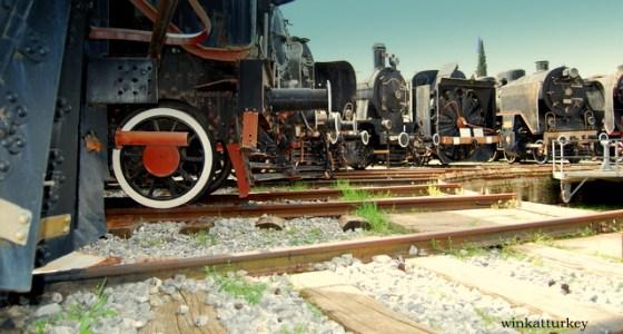 Locomotoras de distinto tipo