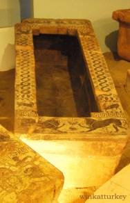 Sarcófago encontrado en Urla del siglo VII a.c