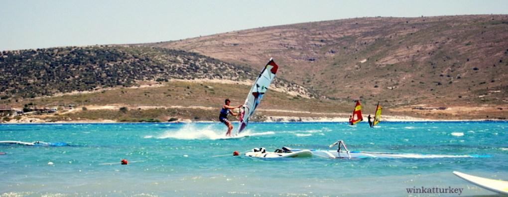 Práctica de windsurf