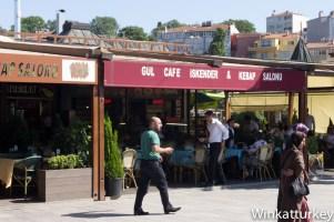 Restaurante en los alrededores cuyo dueño vive en Zaragoza.