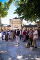 Patio de entrada a la Mezquita