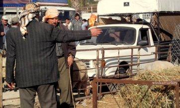 Imagen habitual en las zonas rurales antes del Bayram
