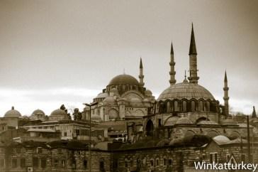 Rustem Pasha desde el puente Galata