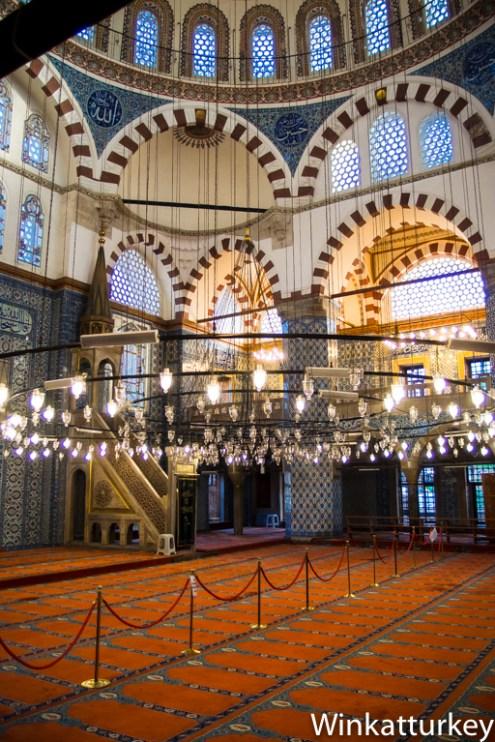 Interior de Rüstem Paşa
