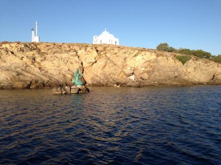 Acercandonos a las islas griegas (Lesbos)