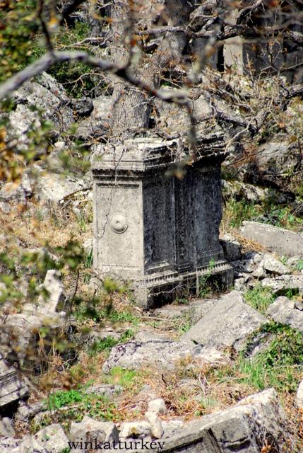Restos de la ciudad de Termessos