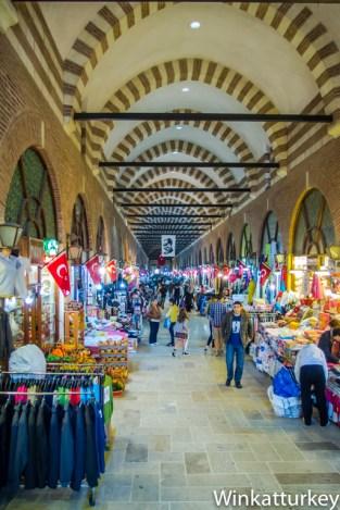 Vista del Bazar Ali Pasha de Edirne