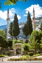 Entrada a la Mezquita Muradiye