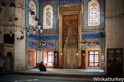 Interior de la Mezquita Muraiye