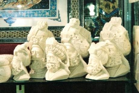 Figuras de espuma de mar