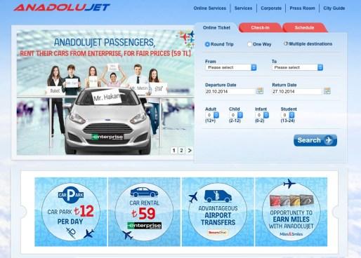 Anadolujet airlines