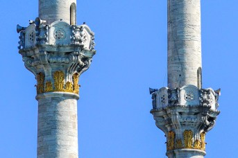 Minartes de Ortakoy. Foto Emilio García Herrera