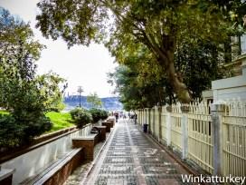 Paseo junto al Bósforo alrededor de la Mezquita