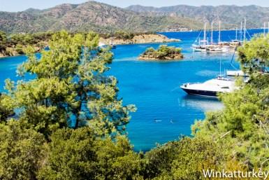 Isla Yasica. Bahía de Fethiye.