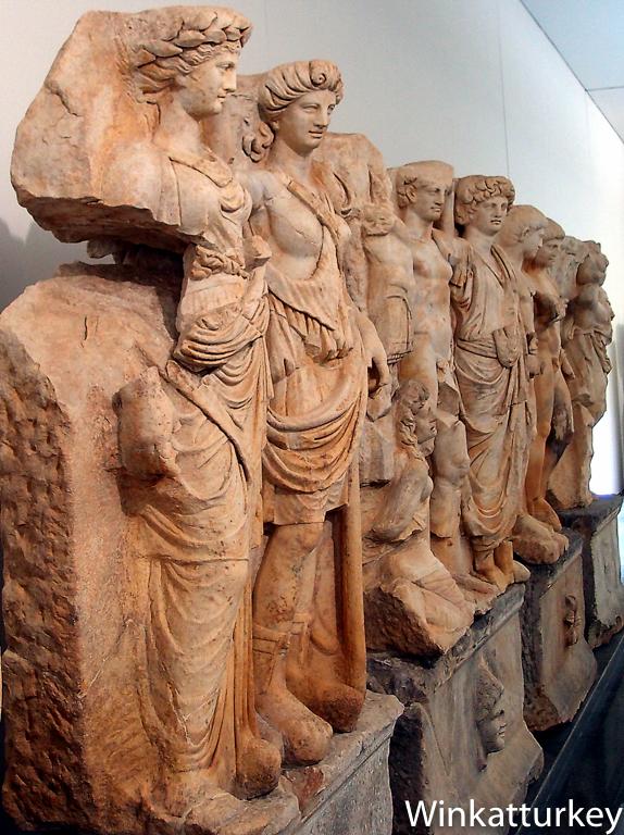Museo de Afrodisias  Un guio a Turqua