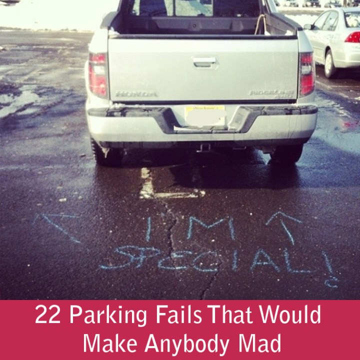 22 Parking Fails That Would Make Anybody Mad
