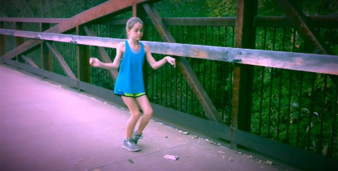 11-Year Old Adilyn Malcolm Stuns with Dubstep Dance Routine.