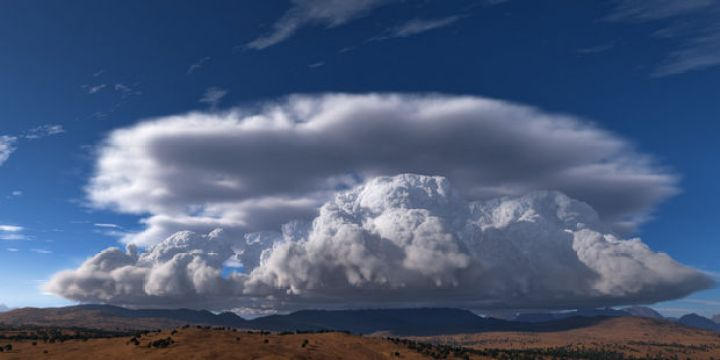 12 Types of Clouds That Are Awesome - Image 2 - Cumulonimbus clouds.