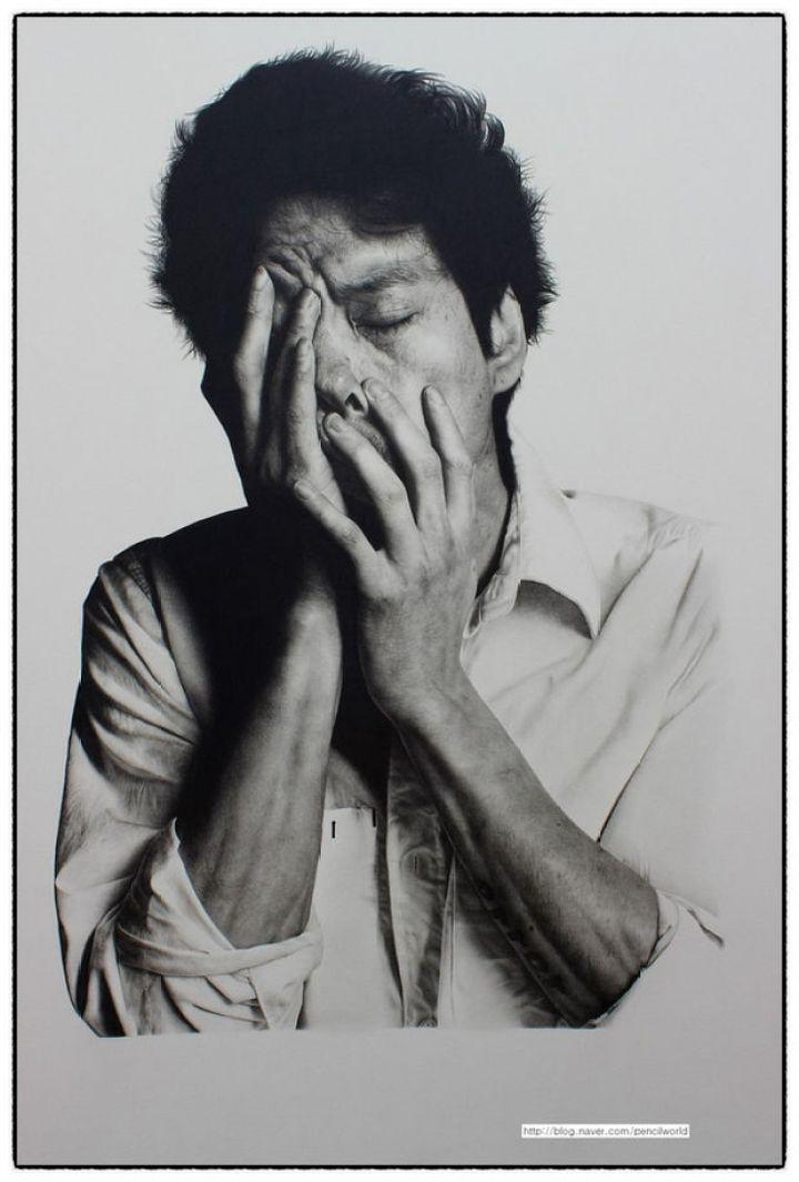 25 Amazingly Realistic Art Paintings - Kim Ji-hoon - Pencil.