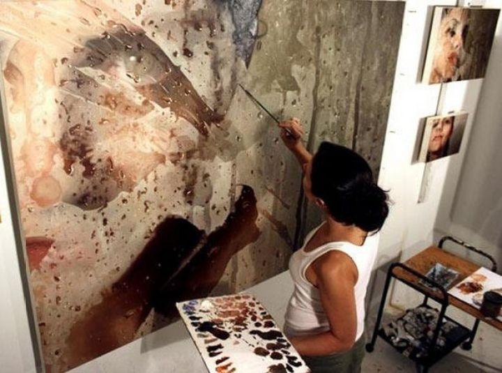 25 Amazingly Realistic Art Paintings - Alyssa Monks - Oil on linen.