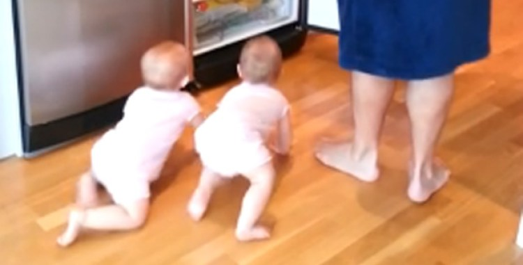 This Dad Making Breakfast With Twins Will Have You Laughing.